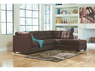 2 PC Chaise Sectional 4520117-66..Available in 3 Designer Colors 4520117-66