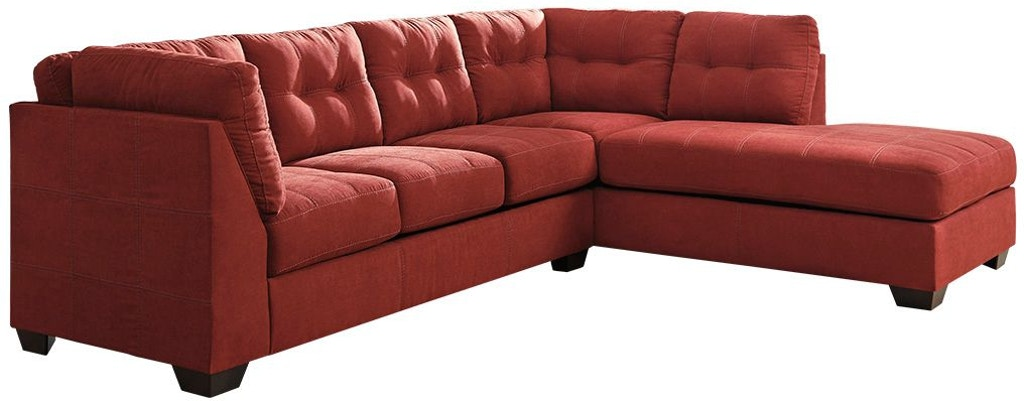 Wondrous Maier Sienna 2 Piece Sectional With Chaise Ibusinesslaw Wood Chair Design Ideas Ibusinesslaworg
