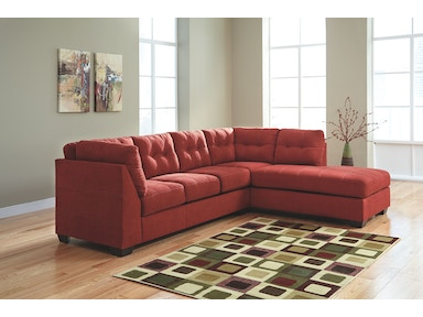 2PC Chaise Sectional..Available in 3 Designer Covers 4520217-66