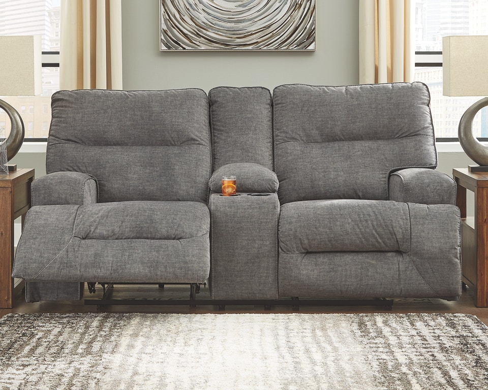 Astonishing Coombs Power Reclining Loveseat With Console Theyellowbook Wood Chair Design Ideas Theyellowbookinfo