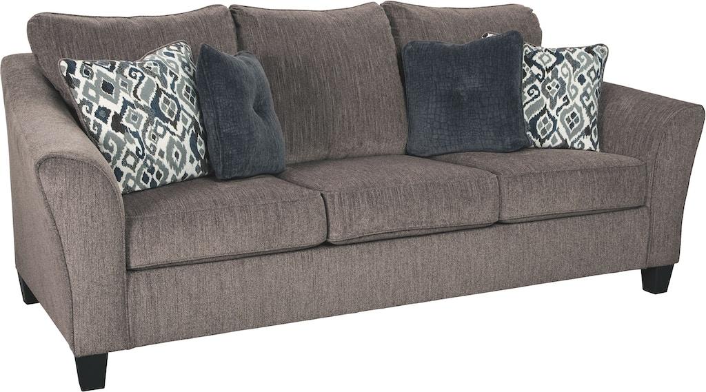 Superb Signature Design By Ashley Living Room Nemoli Sofa 4580638 Machost Co Dining Chair Design Ideas Machostcouk