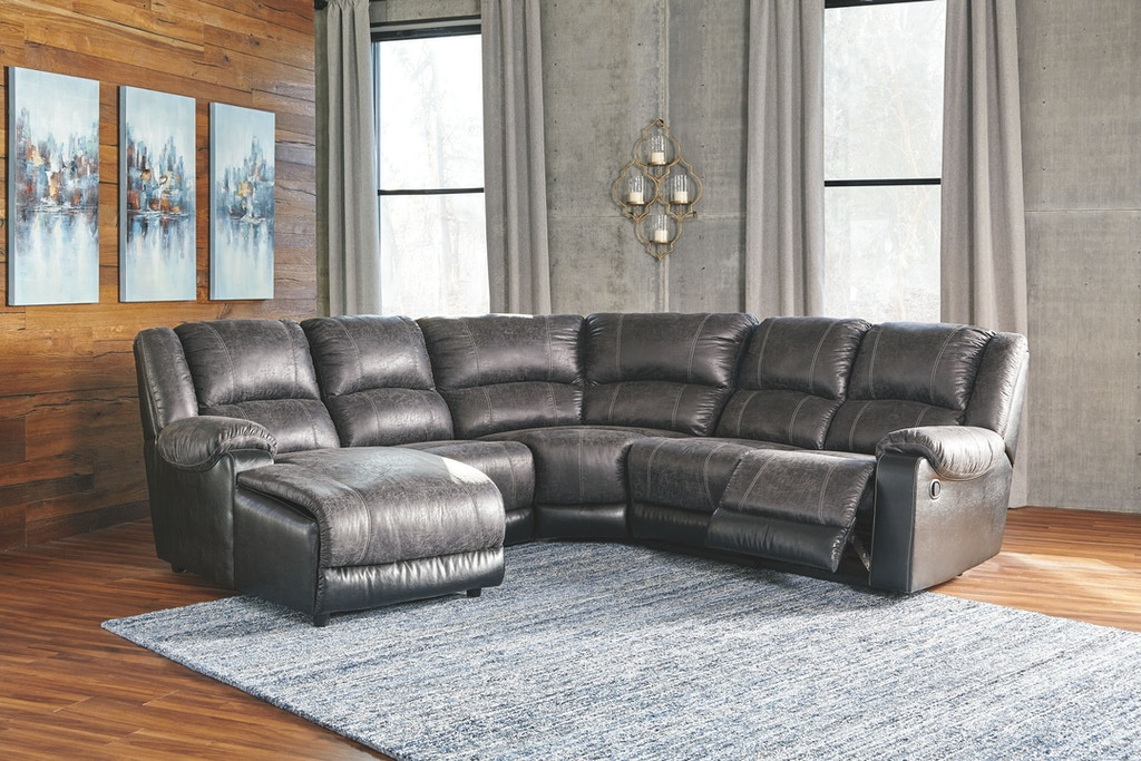 Signature design by ashley living room laf corner chaise for Design source furniture az