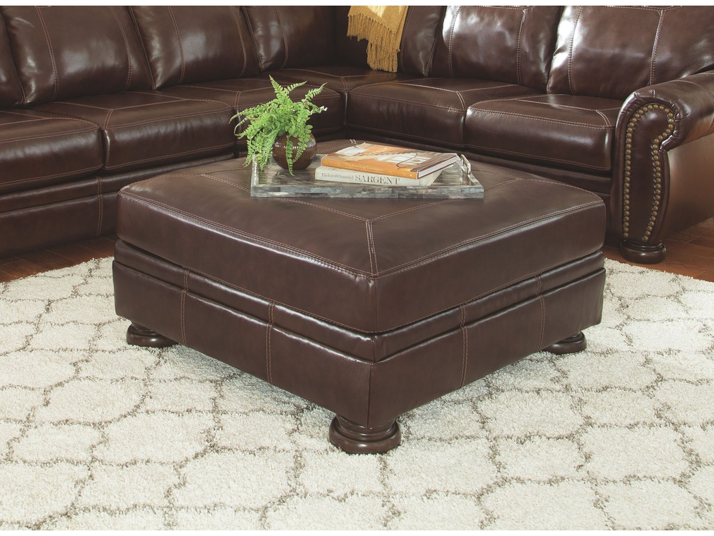 Signature Design By Ashley Living Room Oversized Accent Ottoman 5040408 Furniture Plus Inc