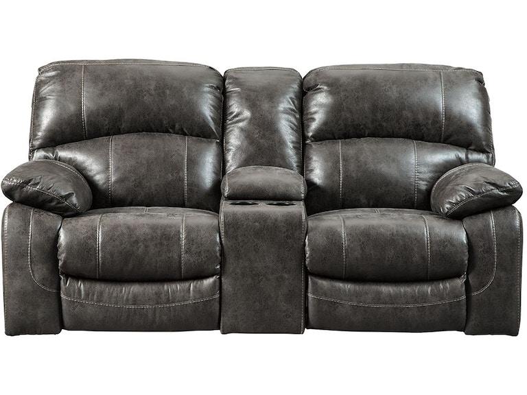Excellent Power Double Reclining Loveseat With Power Headrest Steel Machost Co Dining Chair Design Ideas Machostcouk