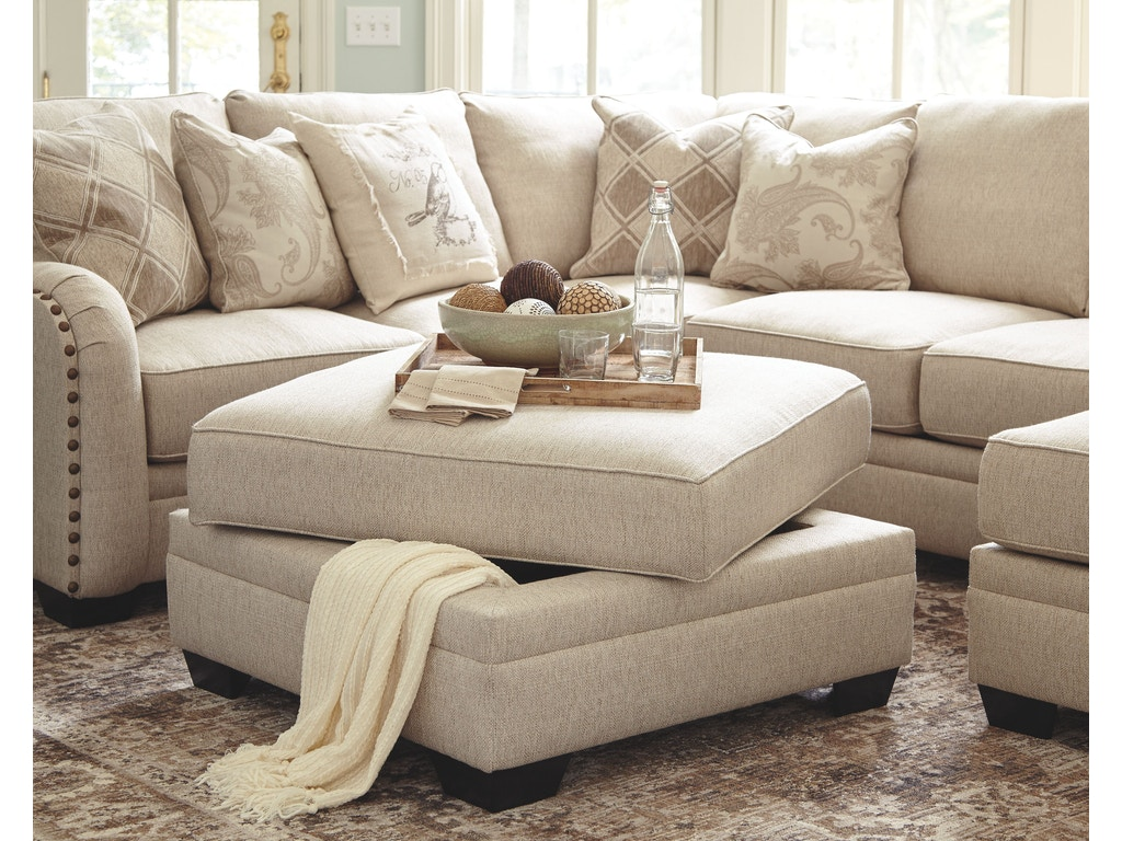 Living Room Ottomans Millennium Living Room Ottoman With Storage 5250111 Furniture