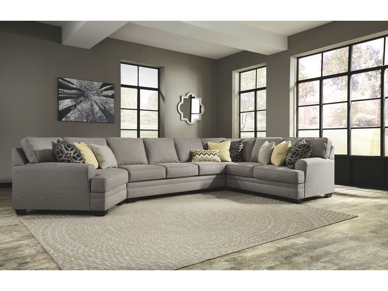 Signature Design By Ashley Living Room Laf Cuddler 5490776 Tate Furniture Phenix City Al And Columbus Ga