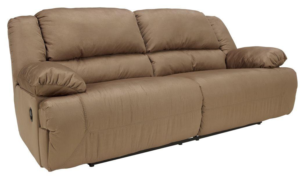 Signature Design by Ashley Living Room Hogan Reclining Sofa ...