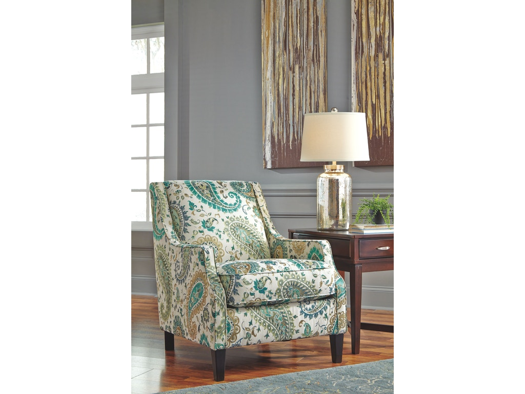signature design by ashley living room accent chair 5810021 simply discount furniture santa. Black Bedroom Furniture Sets. Home Design Ideas