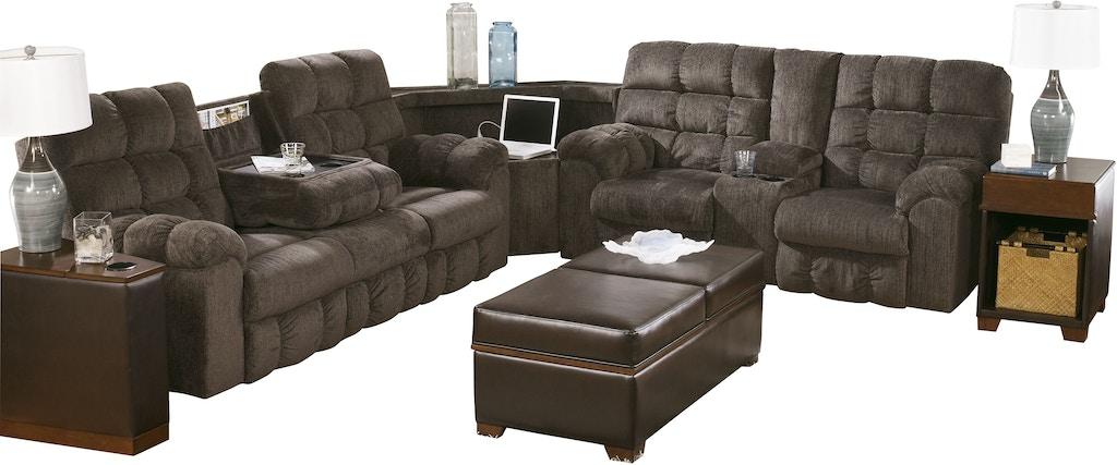 Tremendous Acieona 3 Piece Reclining Sectional Machost Co Dining Chair Design Ideas Machostcouk
