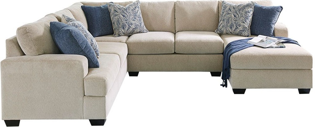 new concept aaf9f 8fa84 Ashley Living Room Enola 4-Piece Sectional with Chaise ...