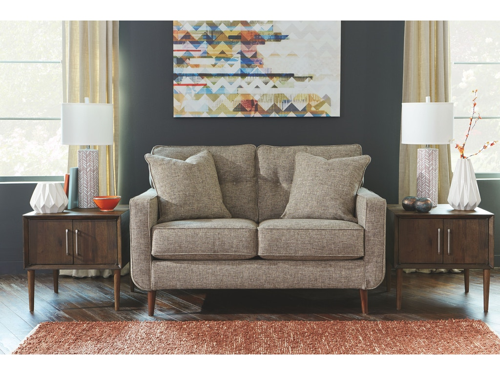 Signature Design By Ashley Living Room Loveseat 6280235 Charter Furniture Dallas Fort Worth Tx