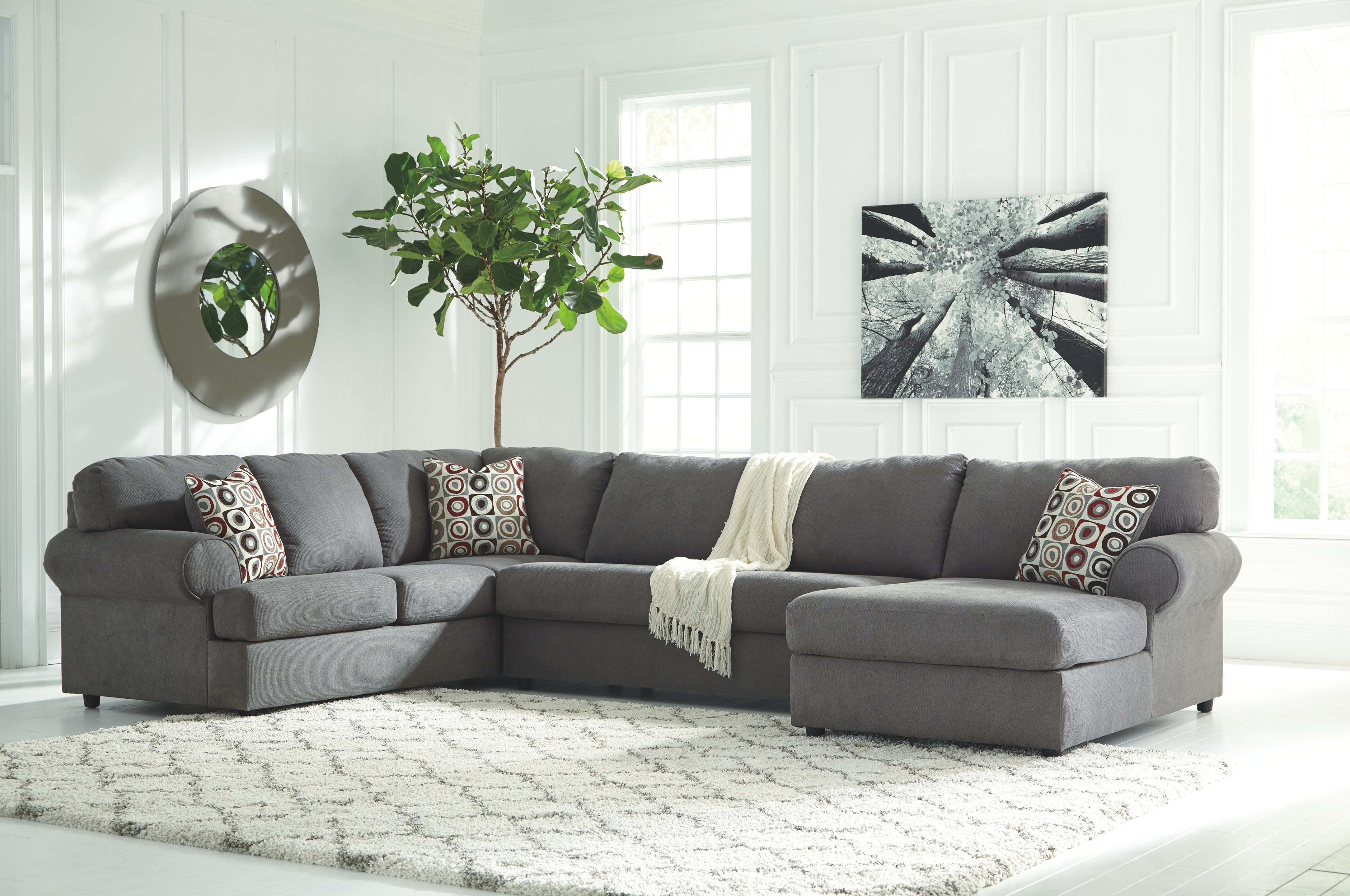 Signature Design By Ashley Living Room RAF Corner Chaise 6490217 At Sofas  Unlimited