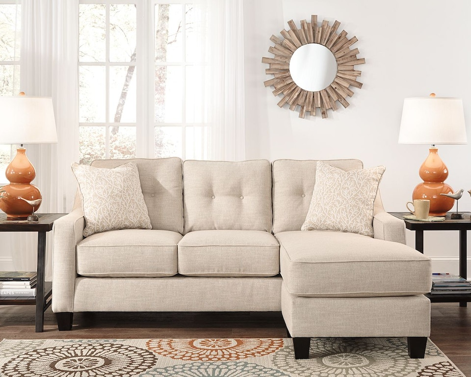 Benchcraft Living Room Aldie Nuvella 174 Sofa Chaise 6870518