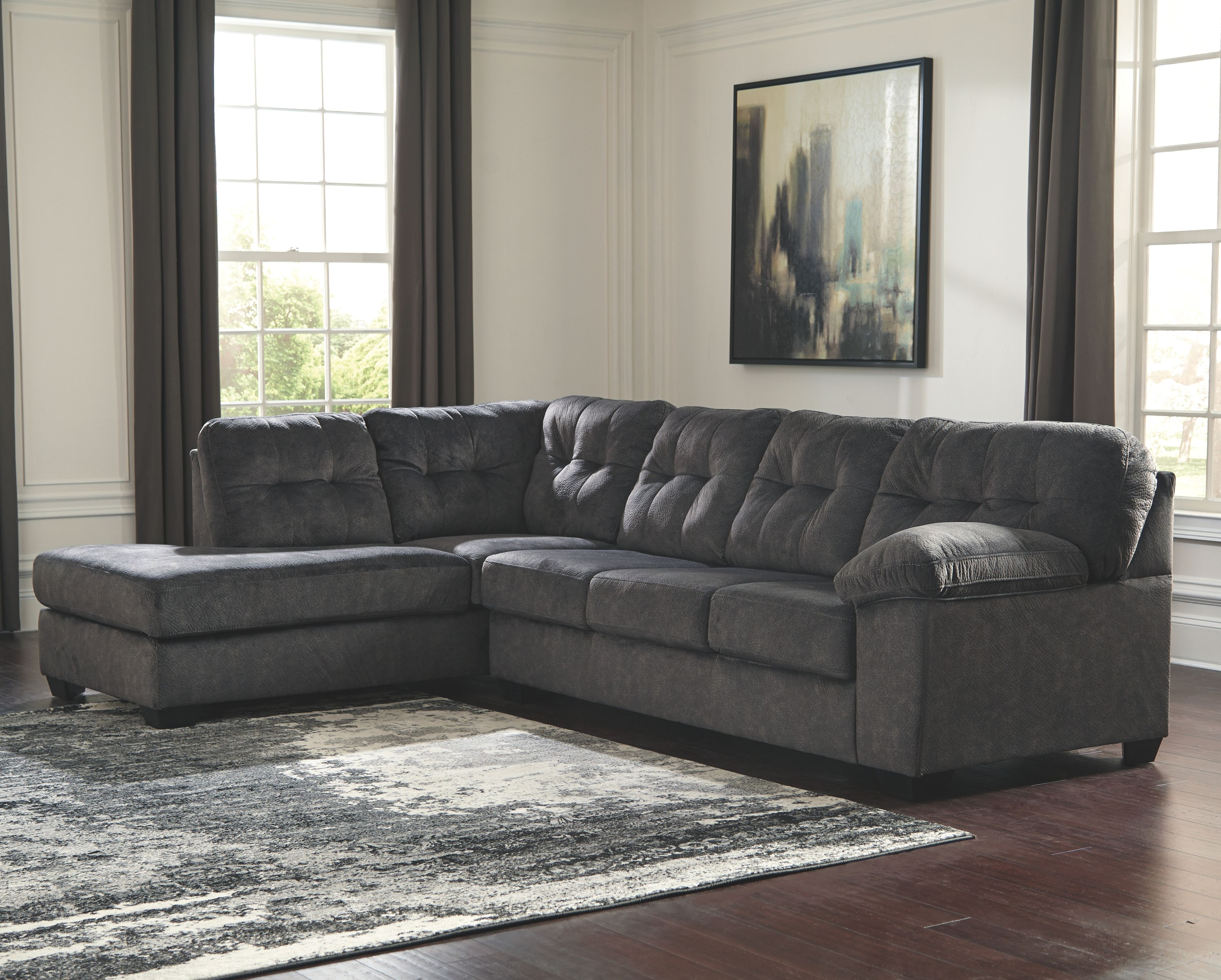 Signature Design By Ashley Living Room LAF Corner Chaise 7050916 At Sofas  Unlimited