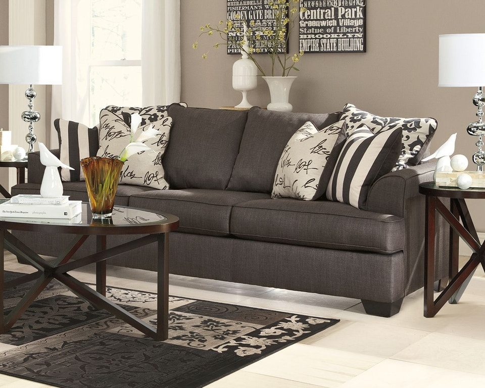 Signature Design By Ashley Living Room Levon Sofa Fulton