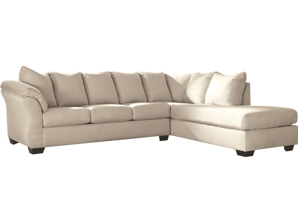 darcy 2 piece sectional