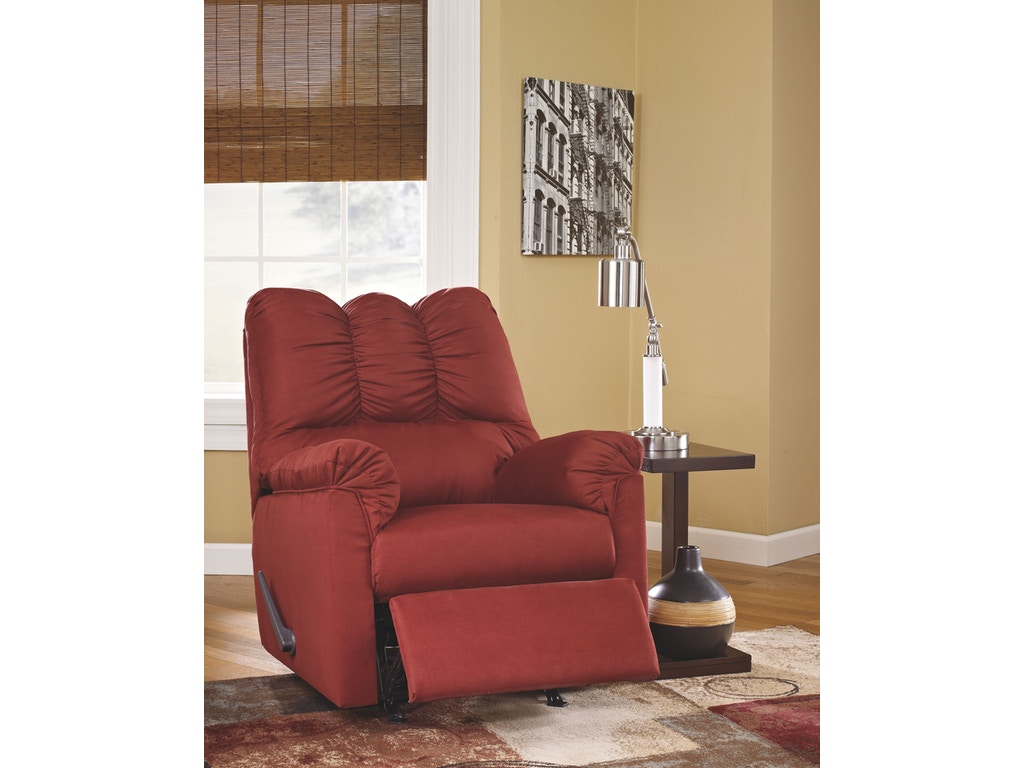 Signature Design By Ashley Living Room Rocker Recliner 7500125 New Look Furniture Lake