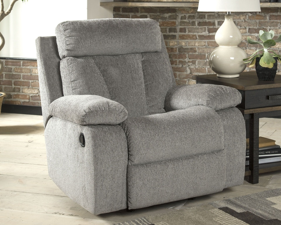 Groovy Signature Design By Ashley Living Room Mitchiner Recliner Bralicious Painted Fabric Chair Ideas Braliciousco