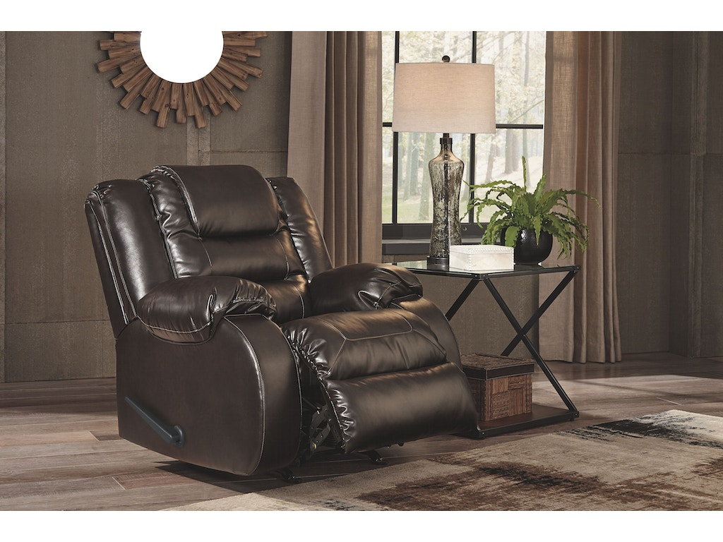 Signature Design By Ashley Living Room Rocker Recliner 7930725 New Look Furniture Lake
