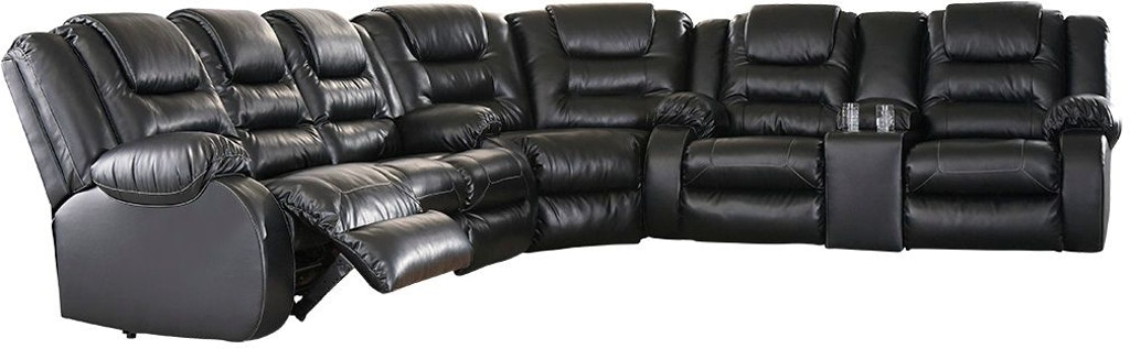 Tremendous Vacherie 3 Piece Reclining Sectional Onthecornerstone Fun Painted Chair Ideas Images Onthecornerstoneorg