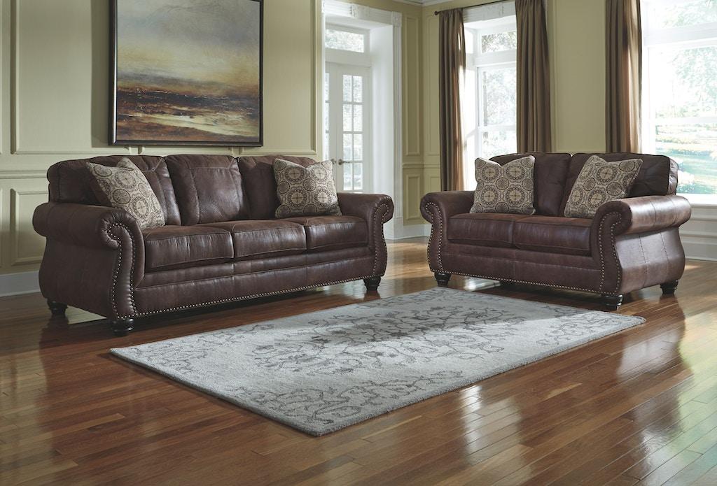 Pleasant Benchcraft Living Room Breville Loveseat 8000335 Callan Home Interior And Landscaping Mentranervesignezvosmurscom