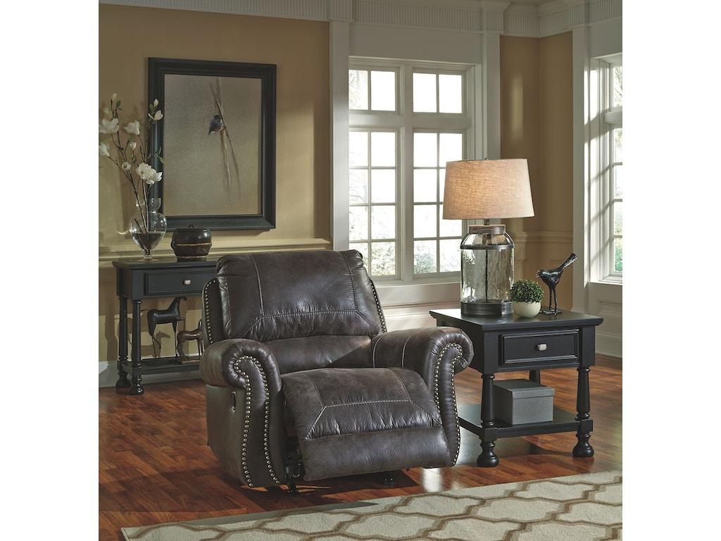 Signature Design By Ashley Living Room Rocker Recliner 8000425 Charter Furniture Dallas