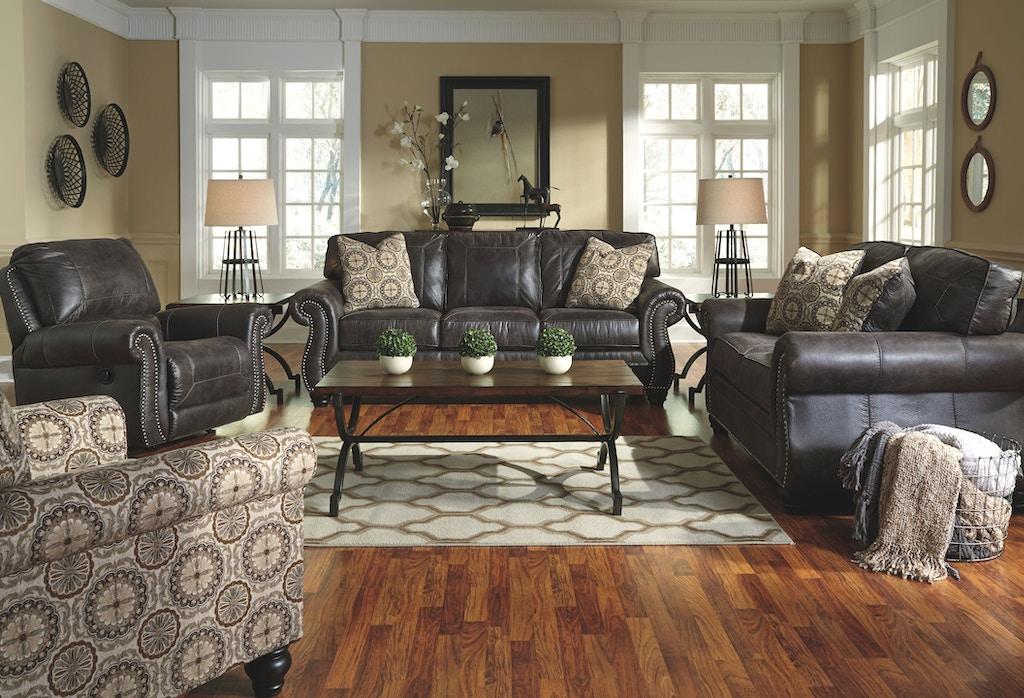 Benchcraft Living Room Breville Recliner 8000425 Evans