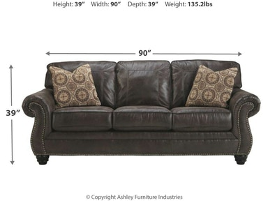 Benchcraft Living Room Breville Sofa 8000438 Fwdg