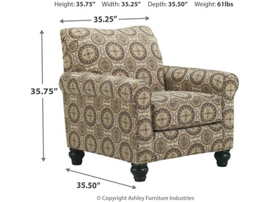Benchcraft Living Room Breville Accents Chair Skaff