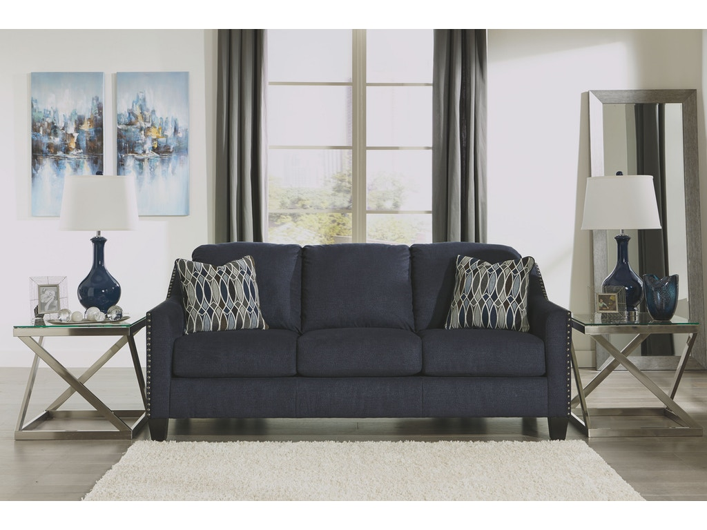 Signature design by ashley living room sofa 8020238 the for Sectional sofas duluth mn