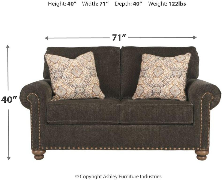 Signature Design By Ashley Living Room Stracelen Loveseat