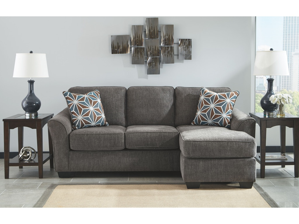 Signature design by ashley living room sofa chaise 8410218 for Ashley furniture chaise lounge prices