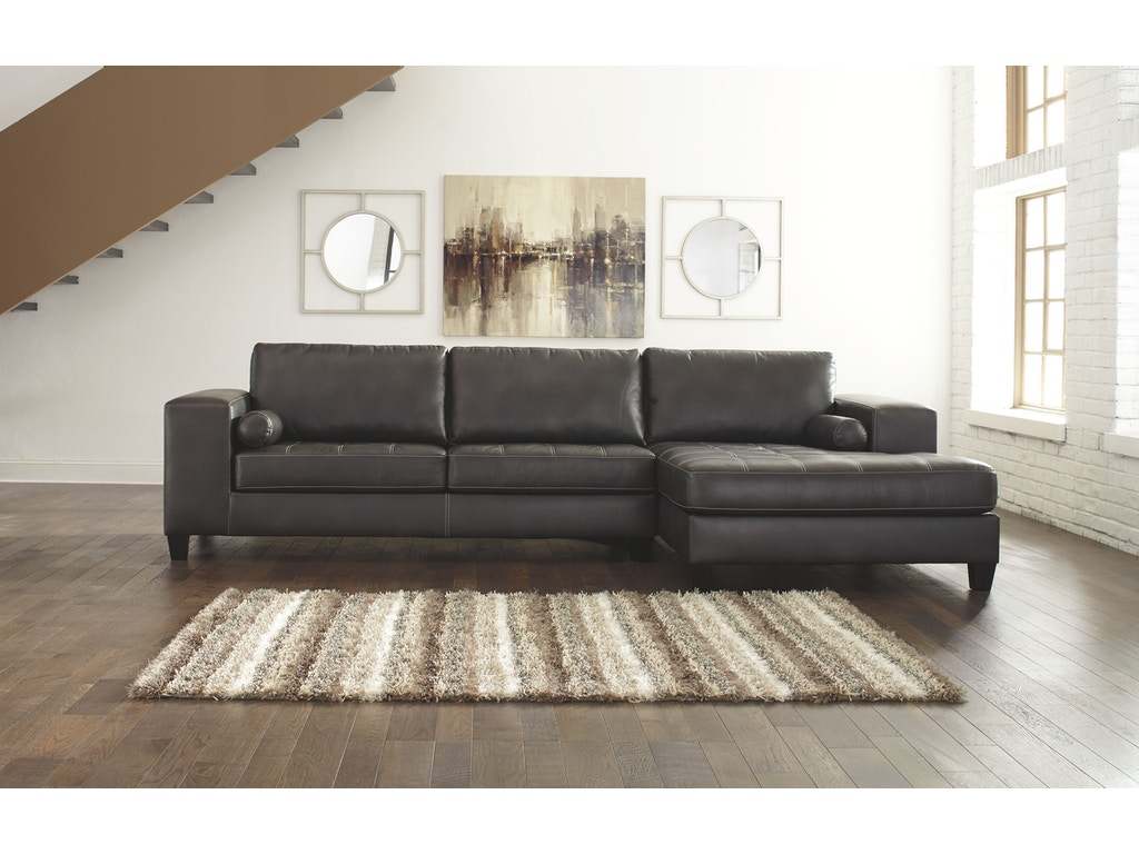 signature design by ashley living room raf corner chaise 8770117 at sofas unlimited - Sofas Unlimited