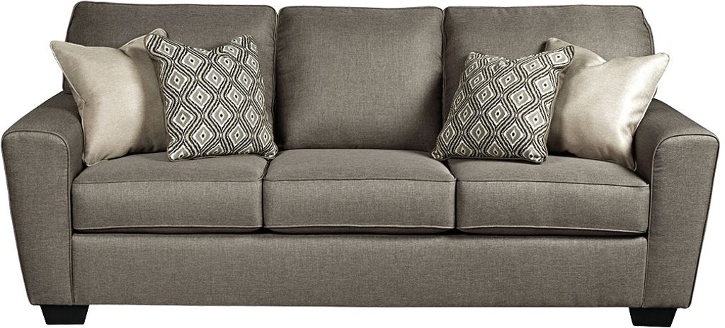 Sofa W Four Accent Pillows