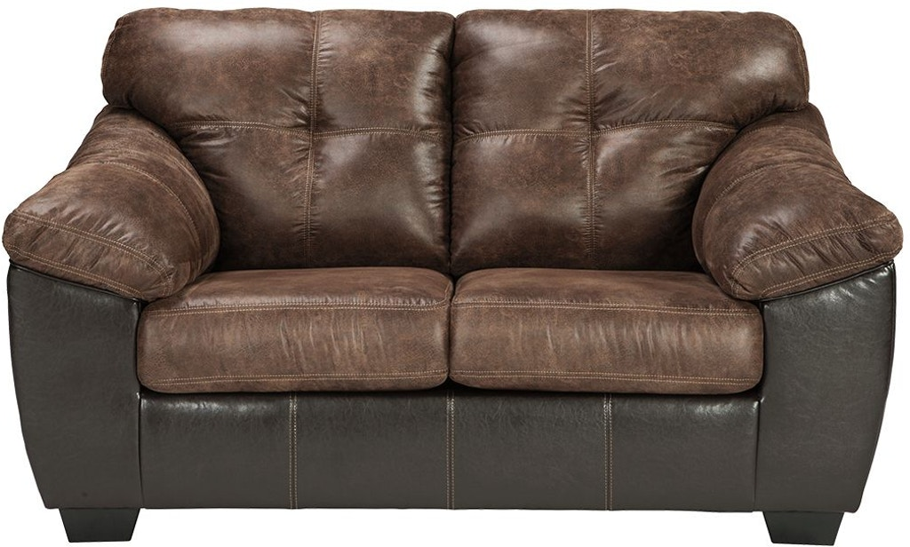 Pleasant Signature Design By Ashley Living Room Gregale Loveseat Machost Co Dining Chair Design Ideas Machostcouk