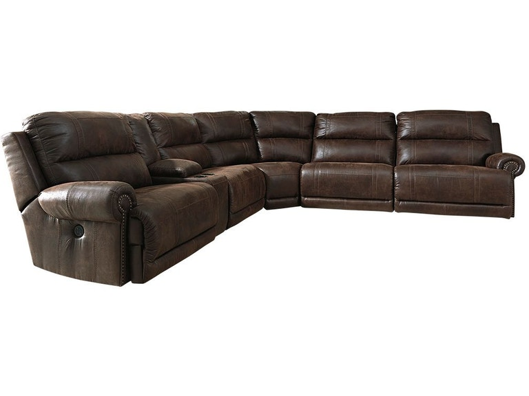Brilliant Luttrell 6 Piece Reclining Sectional Squirreltailoven Fun Painted Chair Ideas Images Squirreltailovenorg