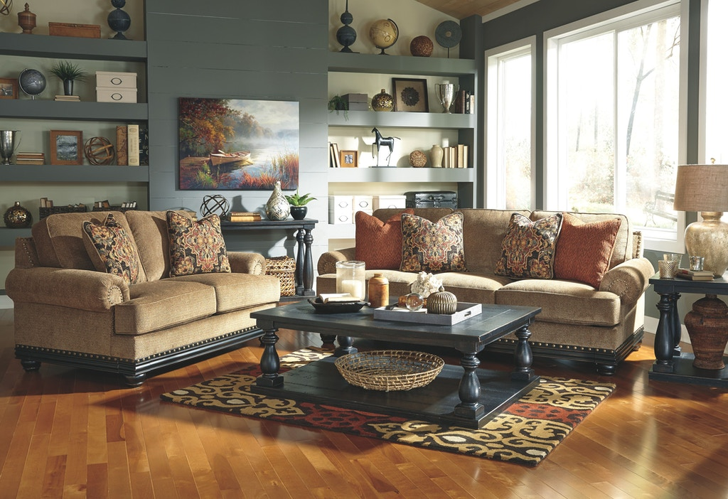 Signature Design By Ashley Living Room Mallacar End Table