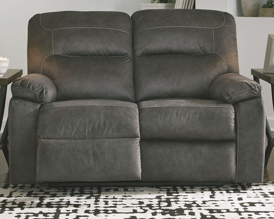 Awesome Benchcraft Living Room Bolzano Reclining Loveseat 9380386 Alphanode Cool Chair Designs And Ideas Alphanodeonline