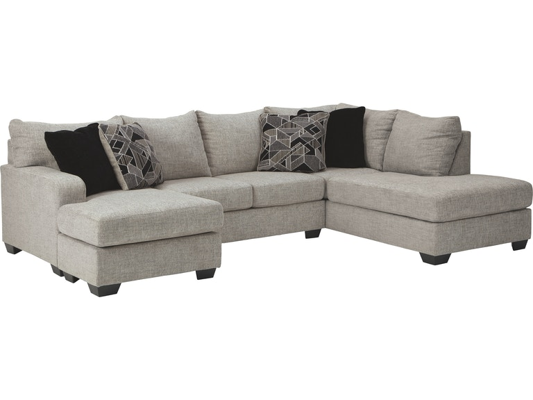Excellent Benchcraft Living Room Megginson 2 Piece Sectional With Pabps2019 Chair Design Images Pabps2019Com