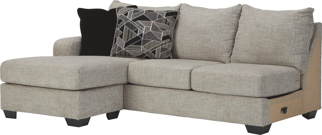 Benchcraft Living Room Megginson Left Arm Facing Sofa Chaise 9600602 The Furniture Mall Duluth