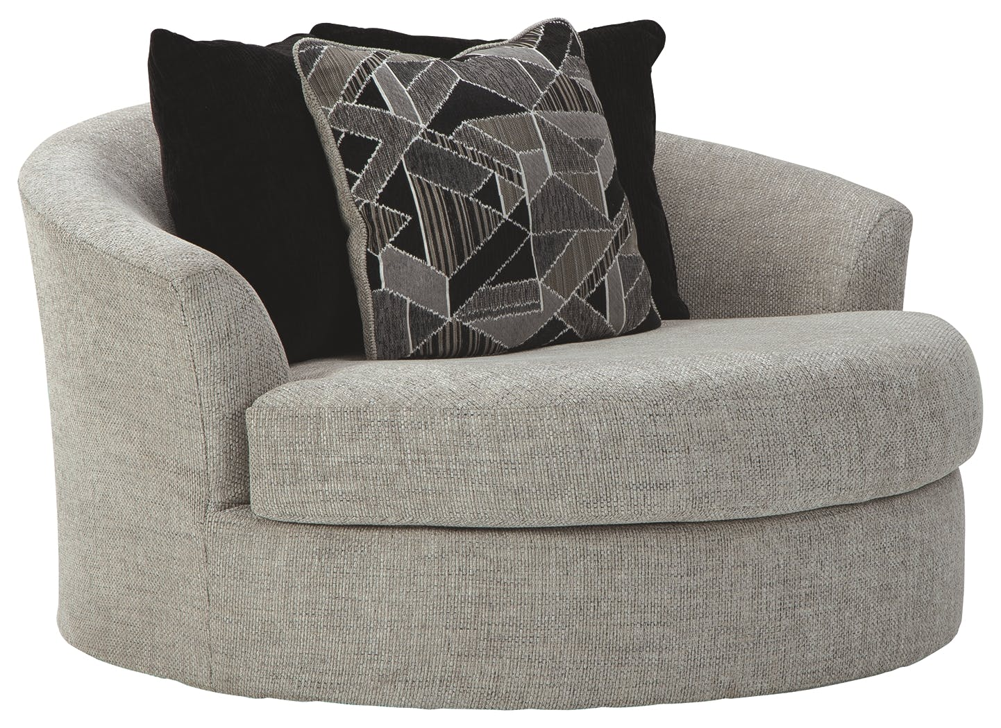 Image of: Benchcraft Living Room Megginson Oversized Chair 9600621 Markson S Furniture Rochester Ny