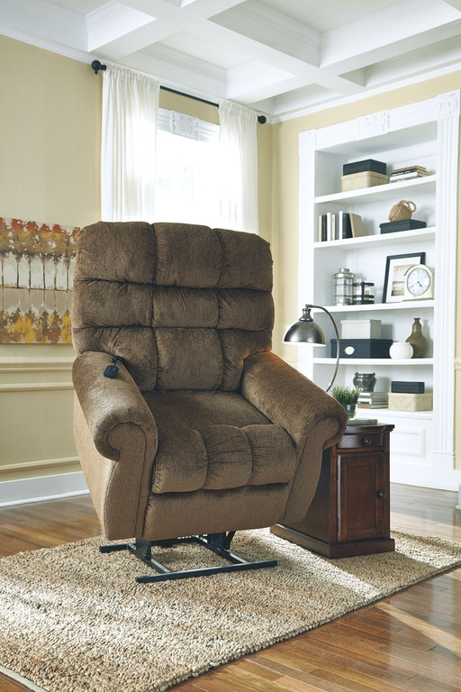 Signature Design By Ashley Living Room Power Lift Recliner 9760212 China Towne Furniture