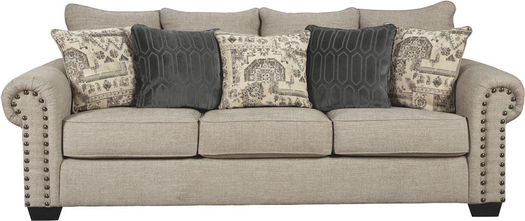 Signature Design By Ashley Living Room Zarina Queen Sofa