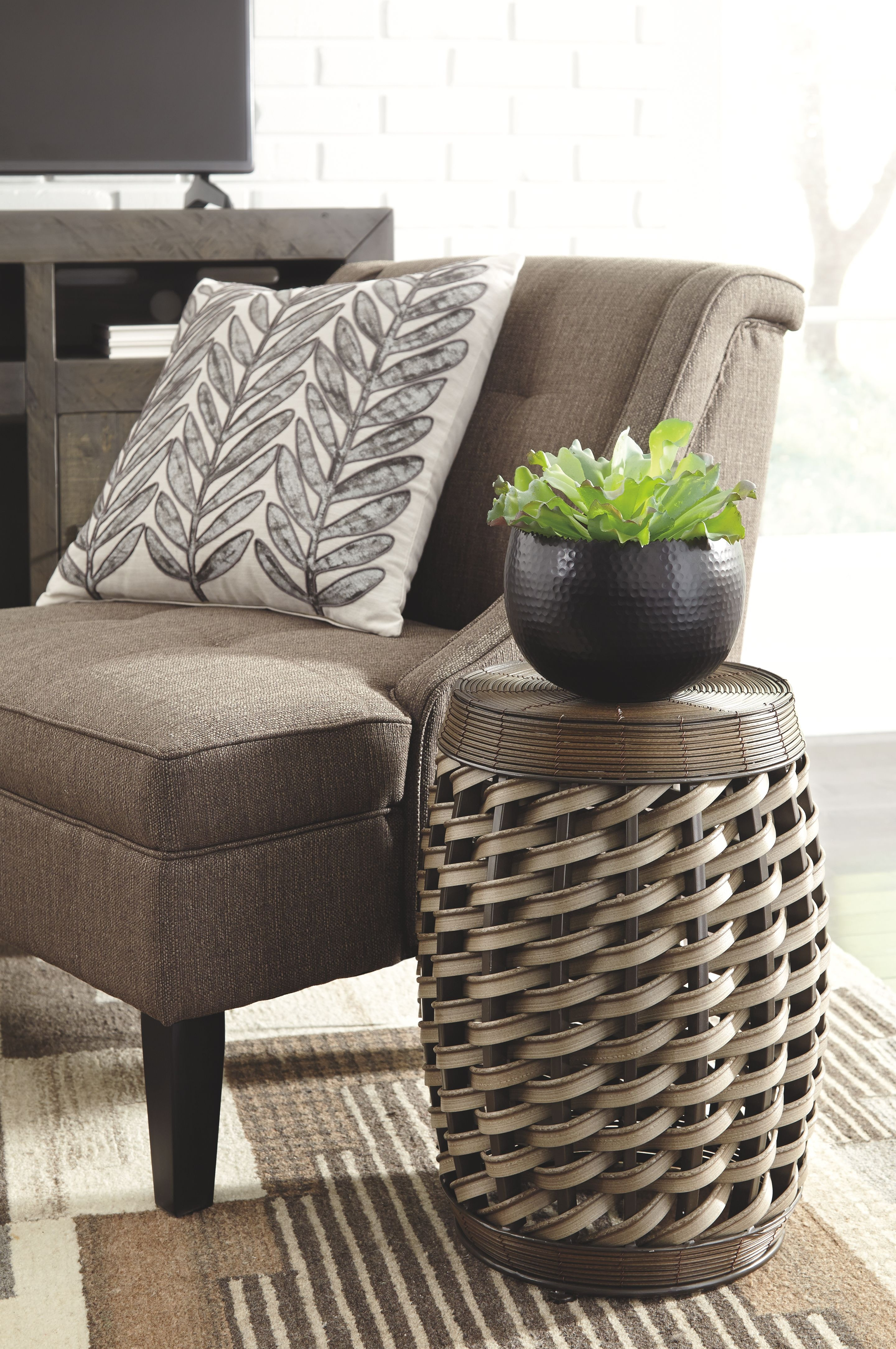Signature Design By Ashley Living Room Stool At Four States Furniture