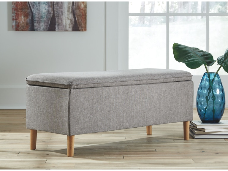 Signature Design by Ashley Living Room Accent Bench - Frazier and ...