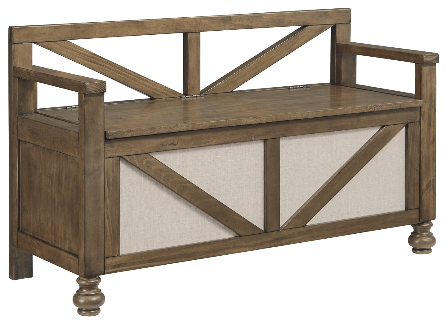 Signature Design By Ashley Living Room Brickwell Storage Bench A3000219 Markson S Furniture