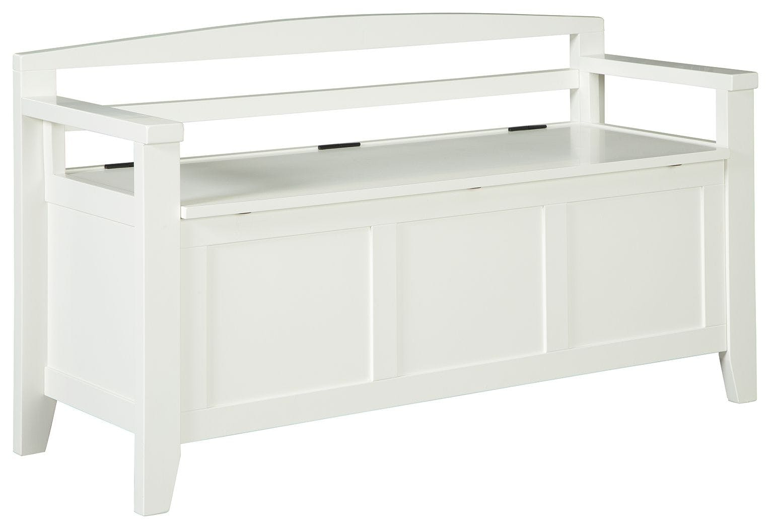 Signature Design By Ashley Living Room Charvanna Storage Bench A4000058 Dow Furniture