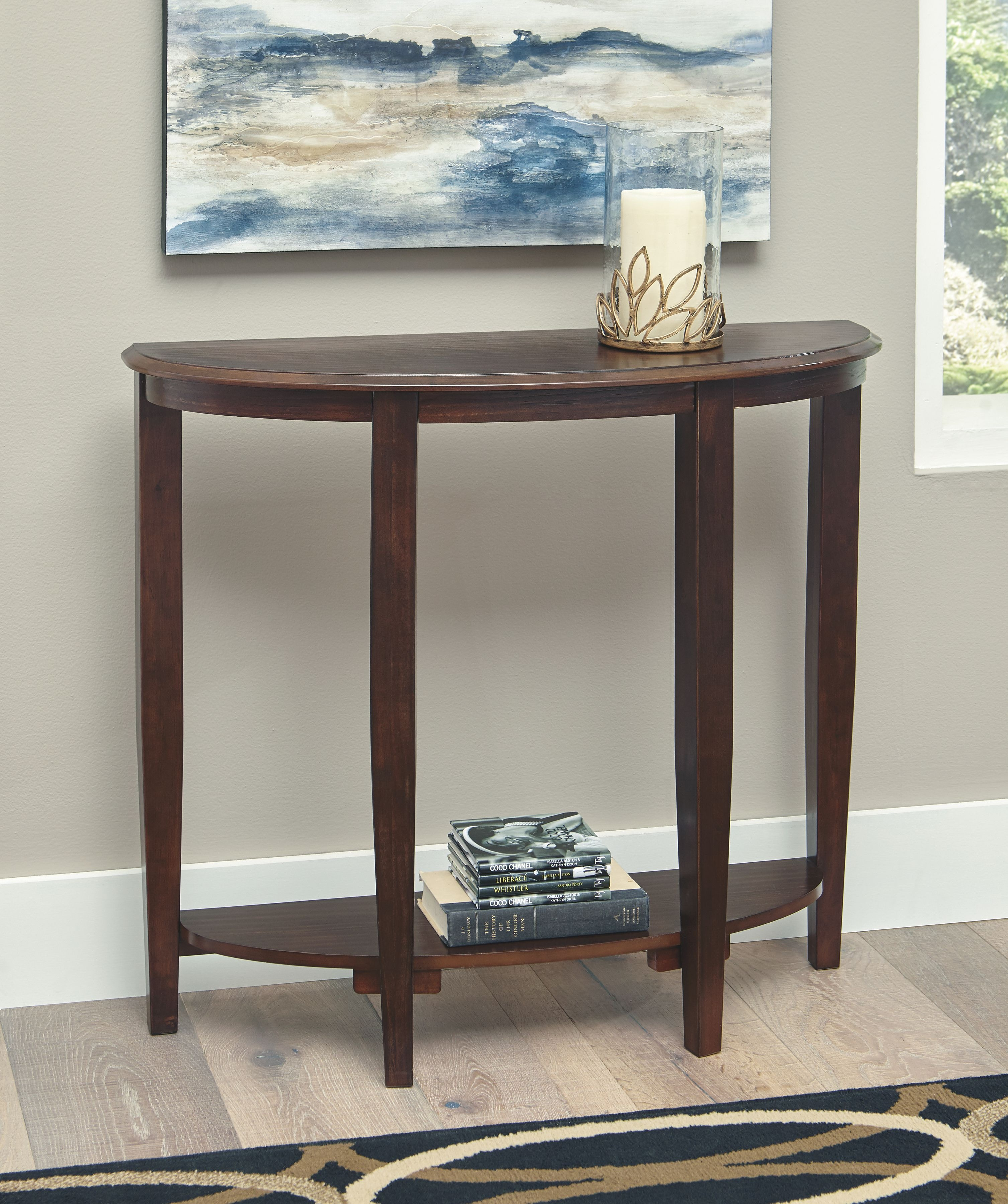 Signature Design By Ashley Living Room Console Sofa Table A4000123