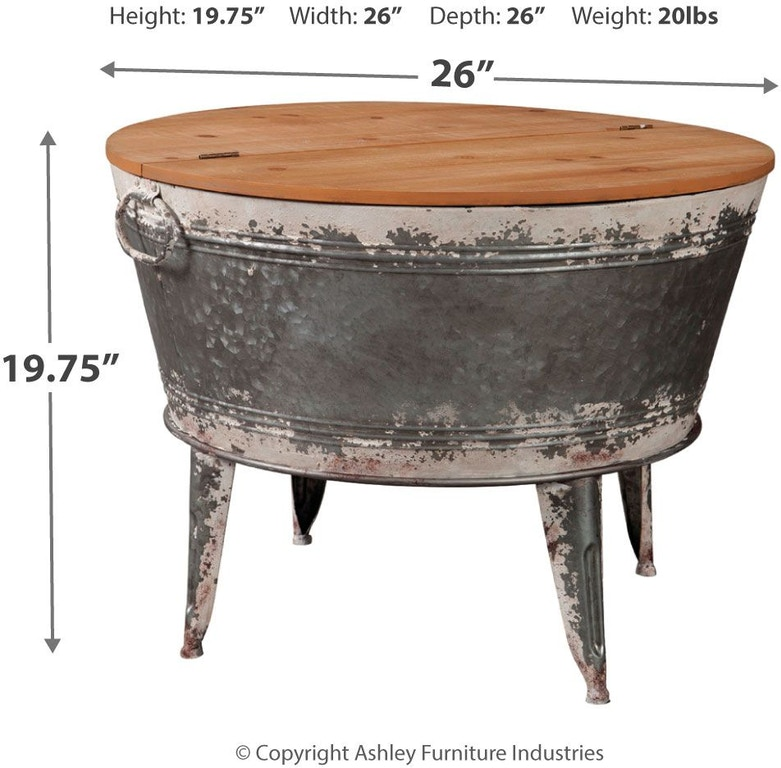 Signature Design By Ashley Living Room Shellmond Coffee Table With