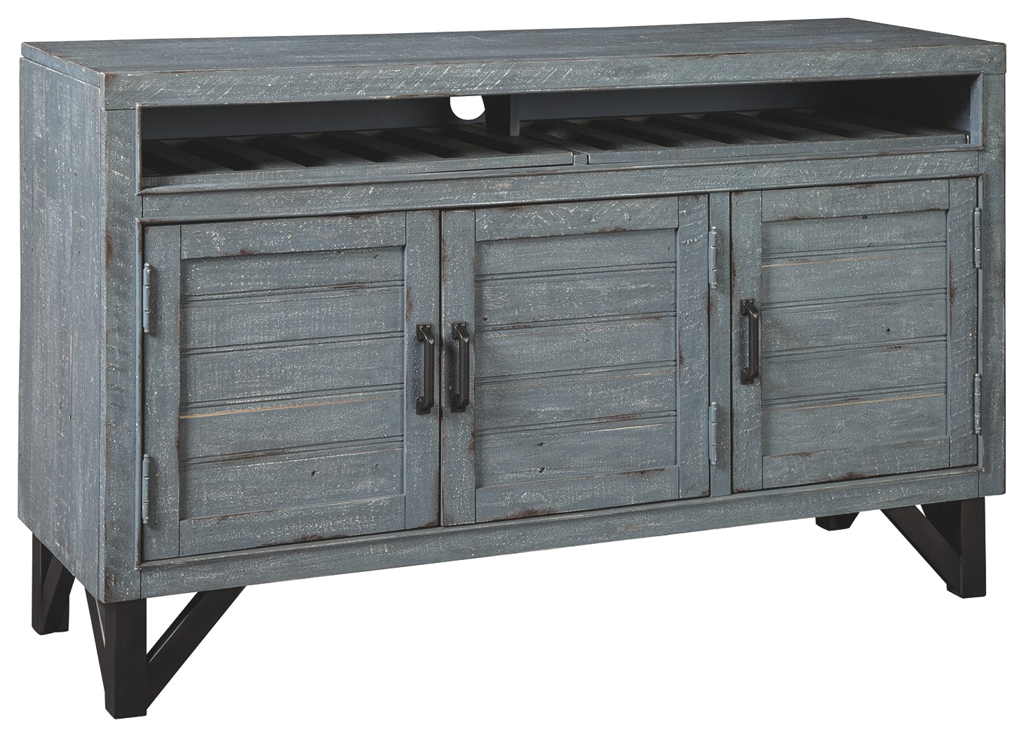 Picture of: Signature Design By Ashley Dining Room Jainworth Accent Cabinet A4000300 Markson S Furniture